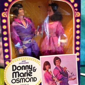 Donny & Marie Osmond Dolls